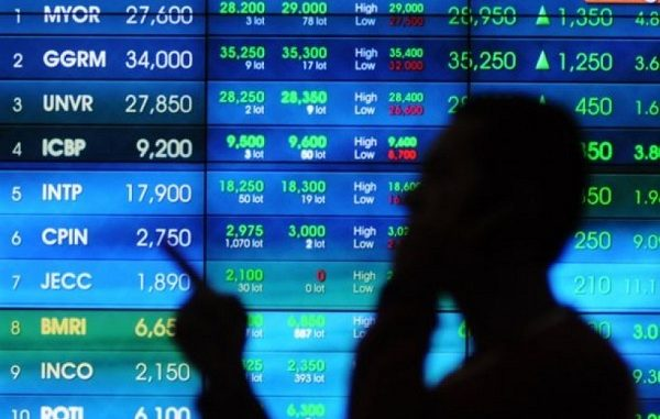 Perdagangan saham di Bursa Efek Indonesia