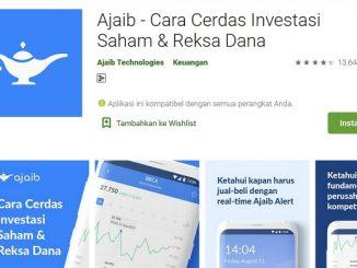 Aplikasi Ajaib milik Ajaib Sekuritas