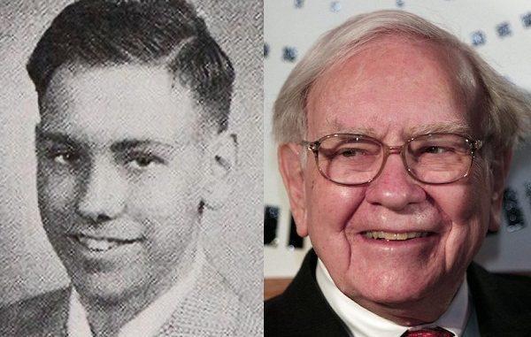 Warren Buffett Muda dan Tua
