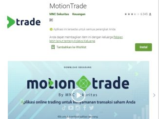 Aplikasi MotionTrade milik PT MNC Sekuritas (MNC Sekuritas)